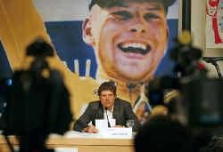 Jan Ullrich: ,,Ik ben een jonge, ambitieuze en gelukkige man, die een mooie toekomst tegemoet gaat.''