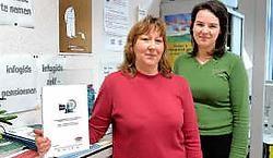 Sonia De Pauw en diensthoofd Herlinde Verherstraeten zijn opgetogen over de positieve evaluatie door Unizo.Yvan De Saedeleer<br>