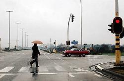 De N42 in Zottegem. In afwachting van de verbreding beginnen volgend jaar al de werkzaamheden voor de rechttrekking van de gewestweg in Herzele.Carol Verstraete