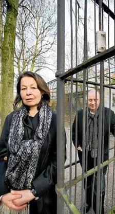 3 Architecten Hilde Daem en Paul Robbrecht nemen al een kijkje in de Zoo. Wim Kempenaers <br>
