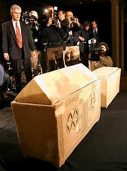 Dit zou volgens de makers van de documentaire het graf van Jezus zijn.reuters<br>