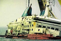 ,,Telefacts'' reconstrueert de ramp met de overzetboot.vtm<br>