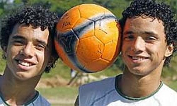 Manchester United strikt identieke tweeling