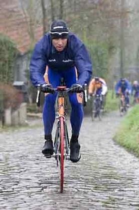 Rabobank ging met zes renners op pad