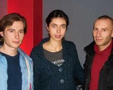 Initiatiefnemers Andrew Claes, Yolèn Allard en Kenisman rr<br>
