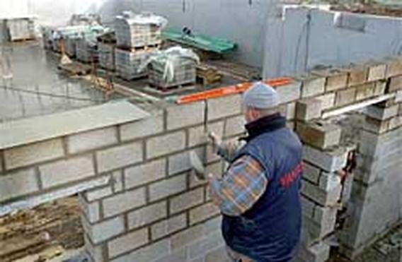 Bouwverlof begint maandag voor gros van Vlaamse bouwsector