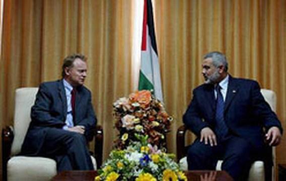 Noorse onderminister bezoekt Palestijnse premier Haniyeh