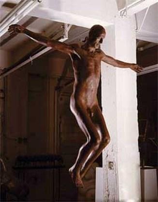 Naakte Jezus zorgt voor opschudding