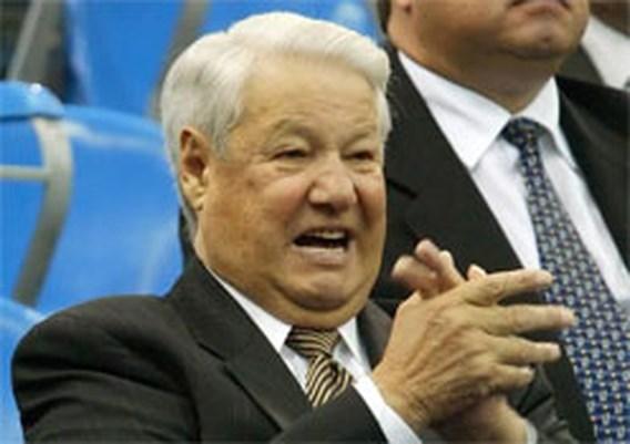 Jeltsin wordt opgebaard in Christus-Verlosser-kathedraal