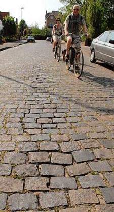De bewoners van onder meer de Joe Englishstraat zijn niet opgezet met de plannen van het stadsbestuur om de kasseien te vervangen door asfalt en bomen aan te planten. Michel Vanneuville