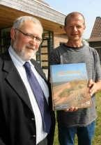 Gedeputeerde Jan Durnez en auteur Herman Dierickx. Bart Vandenbroucke<br>