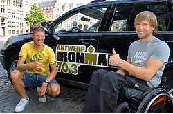 Marc Herremans zal onder andere kunnen supporteren voor Rutger Beke (links) op 5 augustus. Koen Fasseur <br>