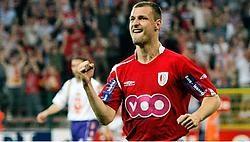Milan Jovanovic opende al na twaalf minuten de score voor Standard. belga<br>