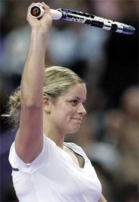 Kim Clijsters speelt zondag voor goede doel