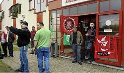 De arbeiders van ArvinMeritor gaan uit financiële noodzaak weer aan het werk.Herman Ricour<br>