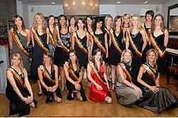 Twintig West-Vlaamse schonen dingen naar een finaleplaats voor Miss België. Michel Vanneuville<br>