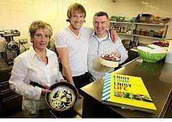 Marc Herremans bracht de realisatie van het kookboek in een stroomversnelling. Yorick Jansens<br>