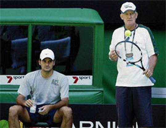 Roger Federer stopt samenwerking met coach Roche