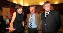 Op 8 oktober 2006 hadden Freya Van den Bossche, Karel De Gucht en Guy Verhofstadt reden tot feesten.Photo News<br>