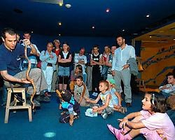 Een bezoek aan Aquatopia vonden de kinderen heel leuk. Koen Fasseur <br>