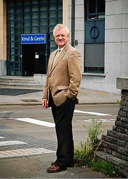 Lieven Vandenberghe, in 1998 ook overheidsmanager van het jaar: 'Vertrouwen is het sleutelwoord'.Bart Dewaele<br>