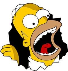 Homer Simpson zegt in de Vlaamse versie niet langer 'Why you little' maar 'Gij se kleine', zijn zoon Bart heeft het over 'plopperdeplop'.photo news<br>