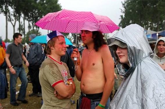 Geen abnormale regenval in juli