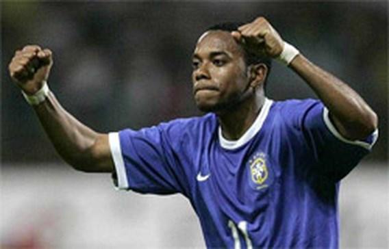Geen Robinho in Braziliaanse selectie