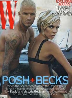 Echte vrienden David Beckham mogen Victoria naakt zien