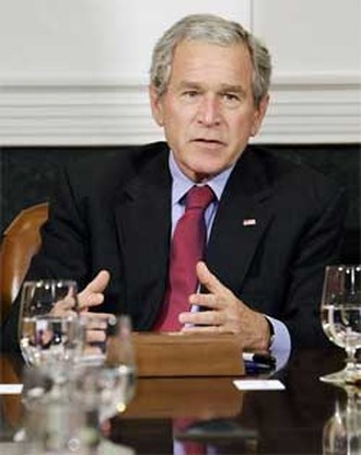 Bush bekent alcoholverslaving