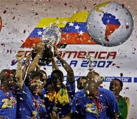 Brazilië wint Copa America
