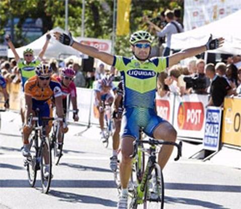 Chicchi wint eerste rit Ronde van Denemarken