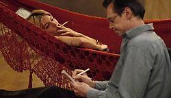 Sienna Miller en Steve Buscemi: aantrekken en afstoten. rr<br>