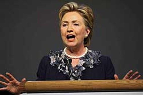 Hillary Clinton maakt sprong