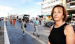 Dorine Geersens vindt de nieuwe inrichting van het Astridplein verwarrend. Isabelle Vanhassel<br>