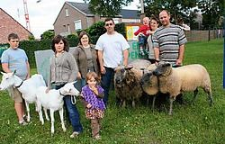 De organisatoren van de schapen- en geitenhappening verwachten ook heel wat niet-kwekers. Emiel Vermeir<br>