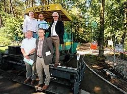 Het toeristische fietspad tussen Hechtel en Beringen wordt aangelegd zonder gebruik van beton of asfalt. <br>Mine Dalemans