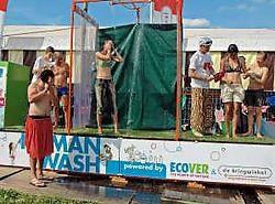 In de Human Wash Street kun je terecht voor een grondige douche in drie stappen. tac<br>