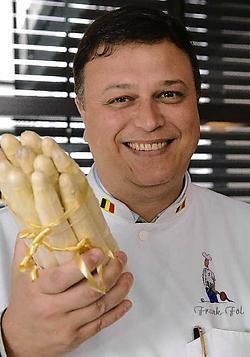 Frank Fol houdt van nietsdoen, maar kan het koken niet laten. Herman Ricour<br>