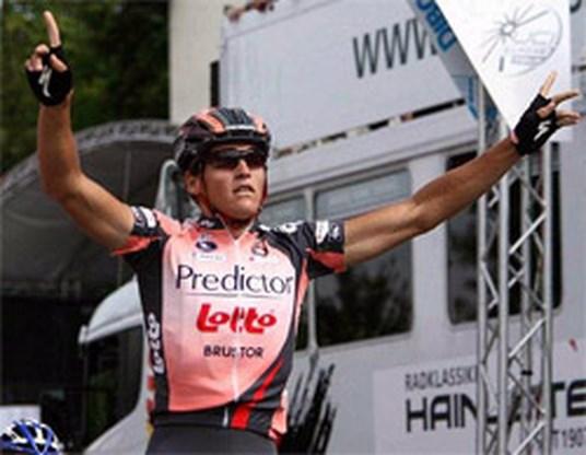 Greg Van Avermaet wint Rund um die Hainleite