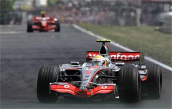Lewis Hamilton wint GP Hongarije