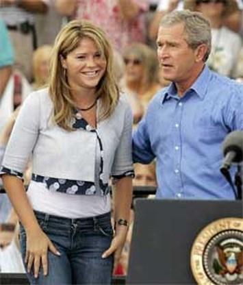 Dochter Bush trouwt op 10 mei