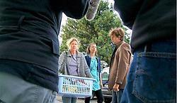 Barbara Sarafian (l.) speelt huismoeder Matty, Johan Heldenbergh (r.) is Werner, haar man.An Nelissen<br>