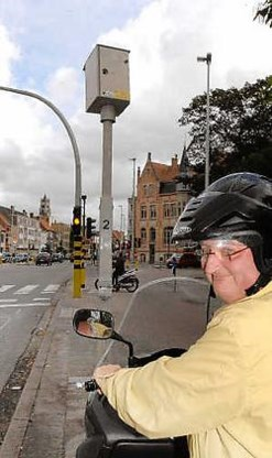 Yves Muylle pleit voor een langere oranjefase aan de verkeerslichten.Michel Vanneuville<br>