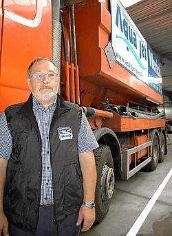 Simon De Groote: 'We hebben de naam beermannen te zijn, maar we doen meer dan wc's ontstoppen.'