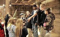 De deelnemers aan 'Kid Nation' zijn tussen de 8 en 15 jaar oud. cbs<br>