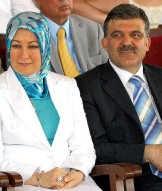 Hayrünnisa en Abdullah Gül.epa<br>