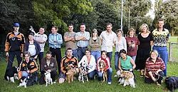 Hondenschool Arci pakt voor de vierde hondenwedstrijd uit met een nieuwe discipline. Stefaan Beel