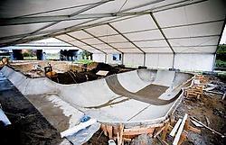 Het skatepark in het Stadspark lokt in ieder geval al veel sportievelingen. Wim Daneels<br>