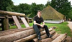 Bart Bosmans: 'Wij hoeven geen tropische temperaturen, want dan is het te warm om te wandelen in het openluchtmuseum en het arboretum.'